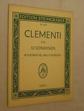 clementi  etc 32 sonatinen