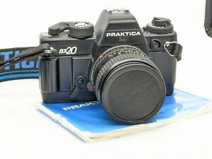 PRAKTICA BX20 35MM FILM CAMERA + PRAKTIKAR 28MM F2.8 LENS