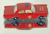Vintage Lesney Matchbox Series No 55/59-C Ford Galaxie Fire Chief 1966 Loose