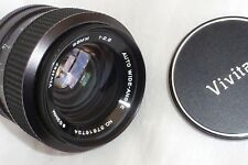 NIKON F (NON AI) FIT VIVITAR 35mm f2.8 WDE ANGLE LENS WITH FRONT AND REAR CAPS