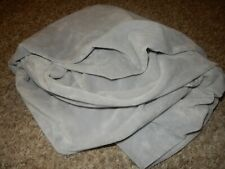 Circo Gray Plush Chamois Velour Fitted Baby Crib Toddler bed Sheet