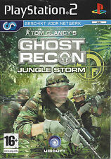 GHOST RECON JUNGLE STORM for Playstation 2 PS2 - with box & manual