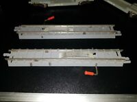 OO gauge Tri-ang R. 97 Power & Uncoupling Rail Track x 2 very good condition
