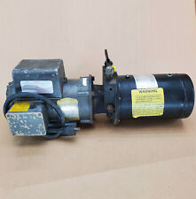 Webster Danfoss Hydraulic Pump Power Unit With Attached Tank 1hp Baldor 3000psi