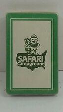 REDSLIP Playing Cards Vintage SAFARI CAMPGROUND unopened