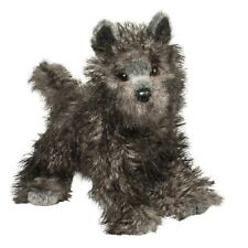 "# Douglas Cuddle Toy Stuffed Soft Plush Cairn Terrier Puppy Dog 16"" Grey Gray"