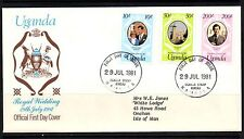 Royalty First Day Cover African Stamps