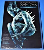 NEW RARE OOP SPECIES I II III IV THE AWAKENING 4 MOVIE COMPLETE COLLECTION DVD