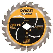 DEWALT Dt40270 XR Flexvolt Extreme Runtime Circular Saw Blade 190mm X 24t
