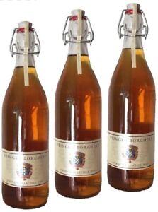 Alte Marille von der Mosel, Schnaps, Obstbrand, Spirituose, 3 x 1 L  41 %