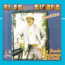 "EL AS DE LA SIERRA ""Corridos Con La Banda Sinaloense AHOME"" NEW Sealed CD (2008)"