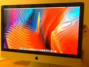"Apple iMac 27"" 2011 A1312 EMC 2429 LCD Display Screen LM270WQ1 (SD)(E3) Mint"