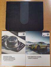 GENUINE BMW M4 COUPE HANDBOOK NAVI AUDIO OWNERS MANUAL 2014-2017 PACK D-213