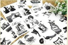 15 sheets restore ancient ways diary notebook albums decorative PVC stickers