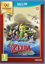 Wii U Select Zelda Wind Waker Nintendo Garanzia ITA
