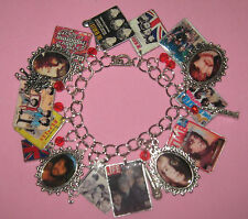 """""""THE BEATLES""""-ONE OF A KIND ALTERED ART CHARM BRACELET"""