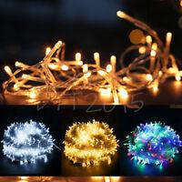 Waterproof Mains Fairy String Lights 10-20M LED Outdoor Christmas Tree Wedding