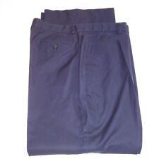 Brooks Brothers Mens Pants Slacks Size 16 28L Navy Blue Advantage Chino