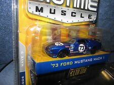 1973 73 FORD MUSTANG boss 429  big time muscle JADA  DUB CITY 1/64th 2006 wave 9