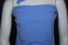 Cotton Jersey Lycra Knit Fabric 4 ways Stretch Luxurious Periwinkle Blue 10 oz