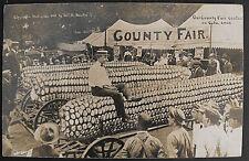 ANTIQUE REAL PHOTO POSTCARD-COLORADO COUNTY FAIR-1905-W.H. MARTIN PHOTOGRAPHER