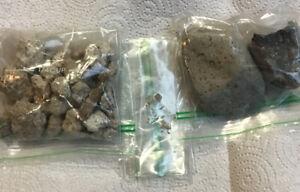 4oz. Of Both  Kimberlite +Diamond Filled Clay 100% Guaranteed Diamonds