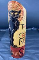 Tournee Du Chat Noir Black Cat Vase Paris