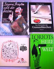 Sammlung - 12 x Humor, Loriot, Zeichner, Illustratoren, Karikaturen, Zeichnungen