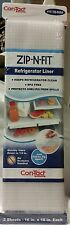 Con-tact Brand Zip-n-Fit refrigerator  Liner - clear