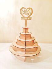Personalizado Mr & Señora Ferrero Rocher Pirámide Boda Display Stand ferrerorocher
