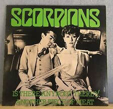 "SCORPIONS Is There Anybody There? 1979 UK 12""   Vinyl Single EXCELLENT CONDITION"