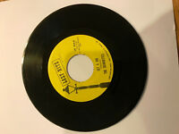 THE SILHOUETTES I AM LONELY 45 RPM RECORD GET A JOB