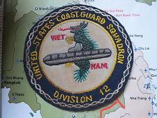 USCG  DIV 12  , VIETNAM WAR PATCH