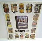 Rowe AMI Jukebox FLYER LaserStar America + 16 Models CD-100B Original 1991 Art