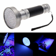 100LED UV Ultra Violet Blacklight Flashlight Lamp Torch Inspection Light Outdoot