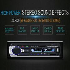 Autoradio Bluetooth SD USB Aux In Equalizer Verschiedene Beleuchtungs JSD-520