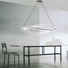LED Pendelleuchte Höhenverstellbar Deckenleuchte Hängelampe Deckenlampe 48W