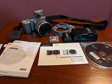Sony Alpha NEX-5K 14.2MP Digital Camera - Silver (Kit w/ E OSS 18-55mm Lens)