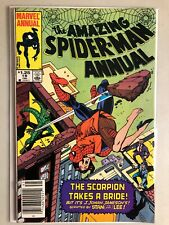 Amazing Spider-Man Annual 18 Canadian Newsstand Price Variant CPV 1984 Marvel VF