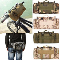 Outdoor Military Tactical MOLLE Shoulder Bag Waist Pouch Pack Hiking Camping Bag