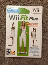 Wii Fit Plus (Nintendo Wii, 2009) Complete With Manual
