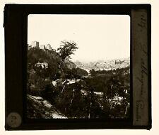 ESPAGNE GRENADE ALBAICIN 1910 Plaque photo positive 8,5X10