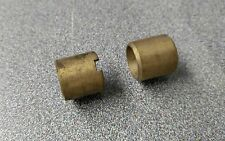 2 NEW GENUINE PORSCHE 356 356A 356B 356C KINGPIN BUSHINGS 1 UPPER AND 1 LOWER