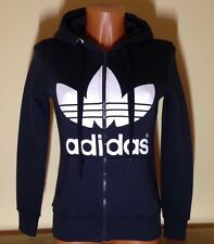 ADIDAS Smoked (Dark Gray) Hoodie With Full Zipper Size: L (see description)