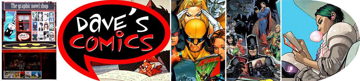 Daves Comics the graphic novel shop