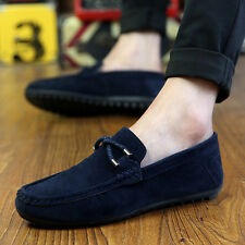 New Men's Loafers Slip On Shoes Casual Lazy Flats Shoes Comfortable Loafers