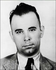 John Dillinger Mug Shot Photo 8x10 - Gangster B&W - Buy Any 2 Get 1 Free
