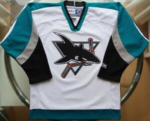 NHL - San Jose Sharks - CCM Ice Hockey Jersey - Youth XL
