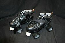Rd Roller Derby Adult Size Seven Black Roller Skates -A7