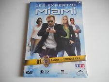 DVD NEUF - LES EXPERTS : MIAMI N° 1 / SAISON 1 / EPISODES 1 à 4